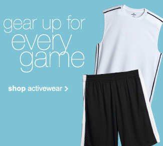 gear up for every game - shop activewear