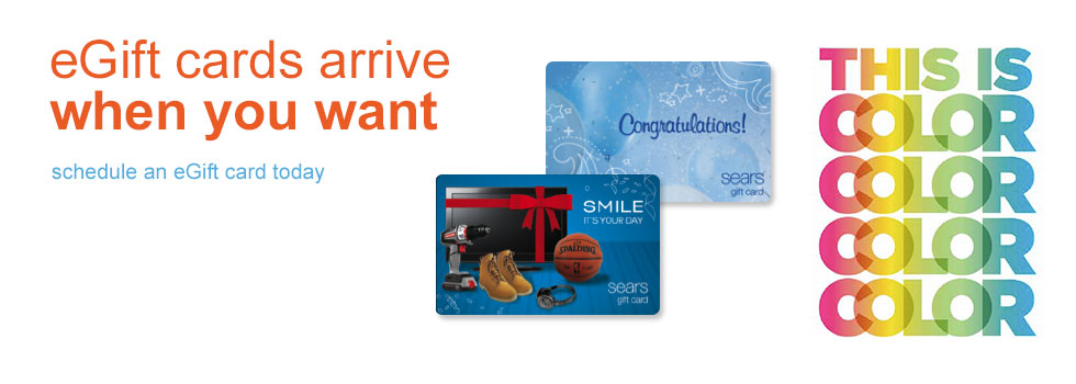 eGift cards arrive when you want schedule an eGift card today 