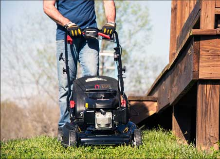 image of lawn mower