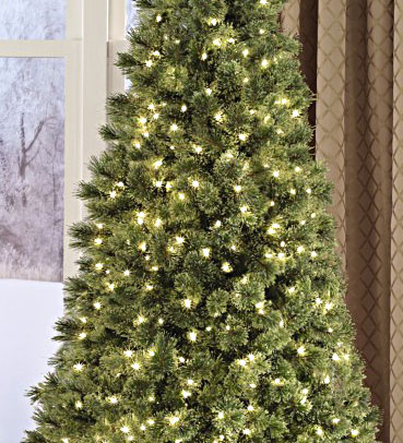 Image of a Cashmere Collection Christmas tree