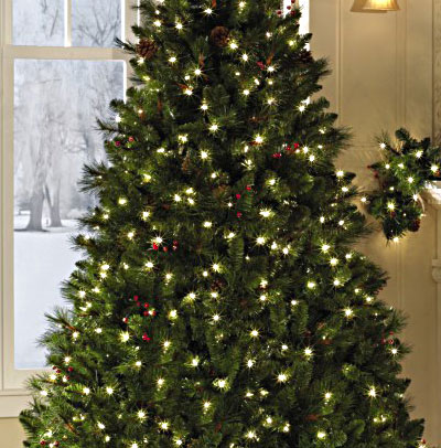 Image of a Kensington Collection Christmas tree