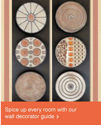 Spice up every room with our wall decorator guide