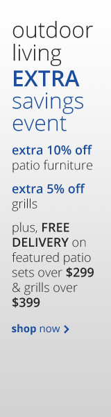 Outdoor Living Extra Savings Event