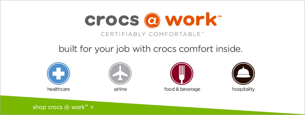 crocs work - work never felt so good