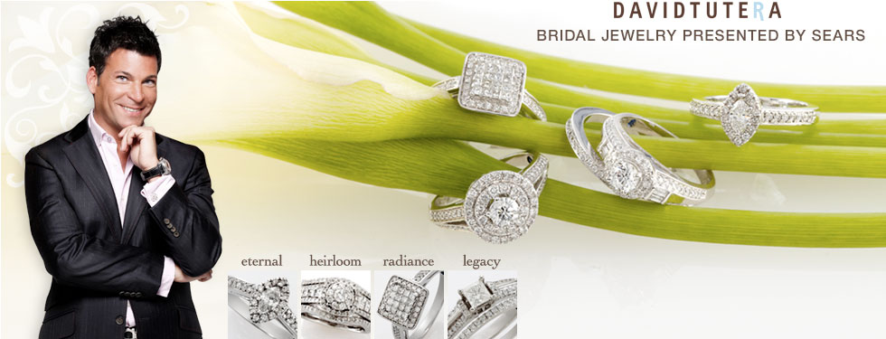 david tutera bridal jewlery presented by sears