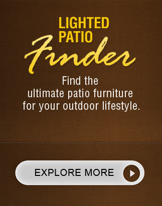 Lighted patio finder.